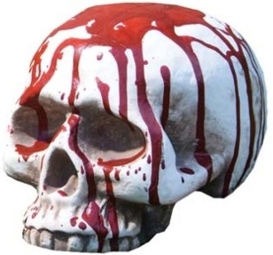 bloody-skull-halloween-decoration